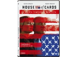 DVD House of Cards - Temporada 5 — De: Beau Willimon | Com: Kevin Spacey, Michel Gill, Robin Wright