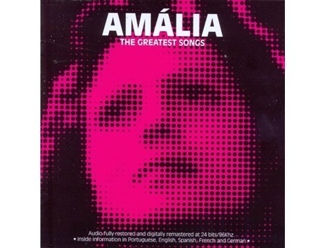 CD Amália Rodrigues - The Greatest Songs — Fado
