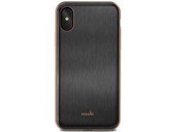 Capa MOSHI iGlaze Armour iPhone X Preto — Compatibilidade: iPhone X