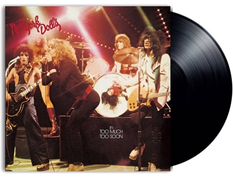 Vinil LP New York Dolls - Too Much Too Soon — Pop-Rock