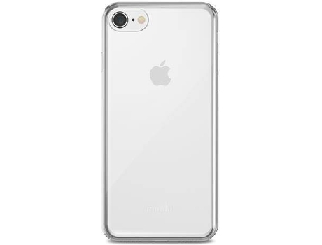 Capa MOSHI Superskin Clear iPhone 7, 8 Transparente — Compatibilidade: iPhone 7, 8