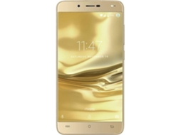 Smartphone CUBOT Rainbow 2 16GB Dourado — Android 7.0 / 5.5'' / MTK6580 Quad Core 1.3GHz