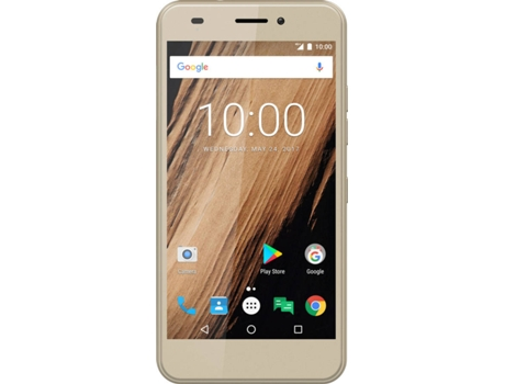 Smartphone MEO S60 4G TOP1GB Dourado — Android 7.0 / 5'' / Octa-core 4x1 + 4x1.5 GHz / 2GB RAM