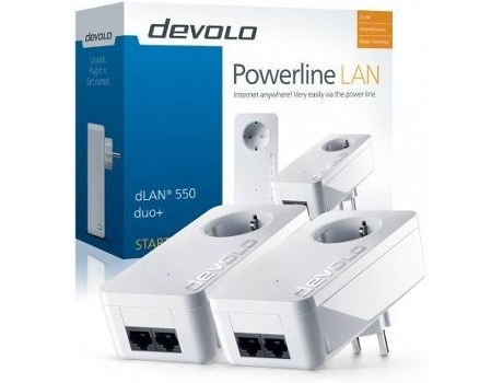 Powerline DEVOLO 1200 triple+ Sta. Kit PT9913 — 2 Uni.