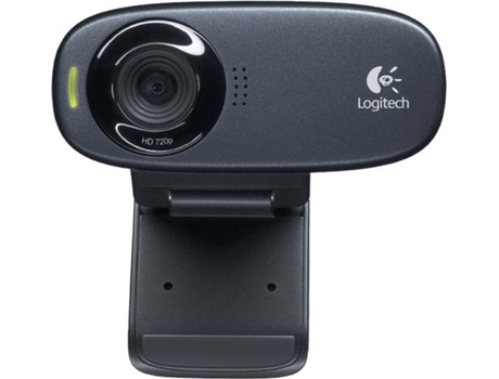 Webcam LOGITECH HD C310 USB Preto — USB 2.0
