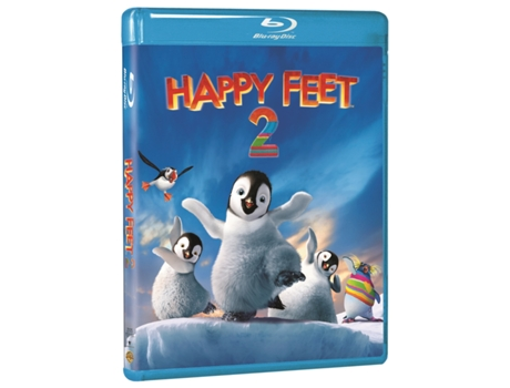 Blu-Ray Happy Feet 2 — De: George Miller | Com: Robin Williams,Elijah Wood,Hugo Weaving,Brad Pitt