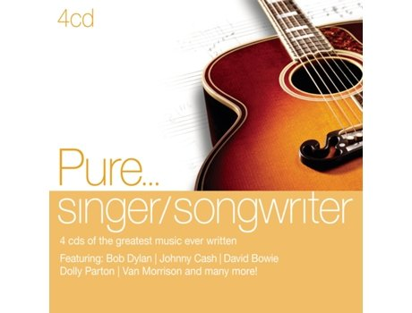 CD Various Pure...Singer Songwritters — Pop-Rock
