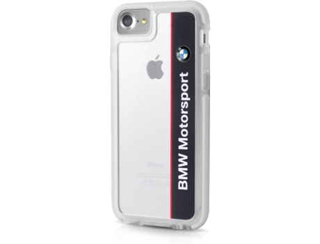Capa BMW Shockproof Motorsport iPhone 7, 8 Preto — Compatibilidade: iPhone 7, 8