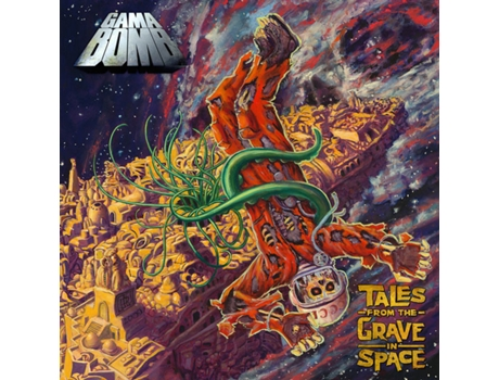 CD Gama Bomb - Tales From The Grave In Space
