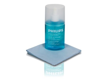Kit Limpeza PHILIPS SVC1116/10 — Para LCD/ LED/ Plasma