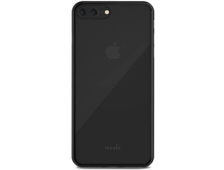 Capa MOSHI Superskin iPhone 7 Plus, 8 Plus Preto — Compatibilidade: iPhone 7 Plus, 8 Plus