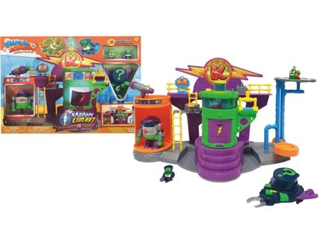 Jogo Didático SUPERZINGS Batalha Laboratório Kazoom (Idade Mínima: ?3)