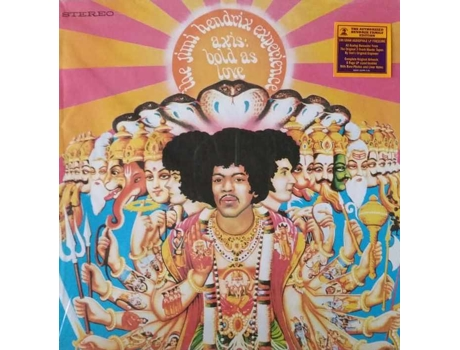 Vinil The Jimi Hendrix Experience Axis  - AXIS — Pop-Rock