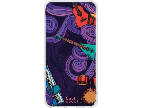Capa Sony Xperia 5 TECHCOOL Música Multicor