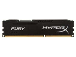 Memória RAM DDR3 KINGSTON HyperX Fury 4 GB (1600 MHz - CL 10 - Preto) — 4 GB | 1600 MHz | DDR3