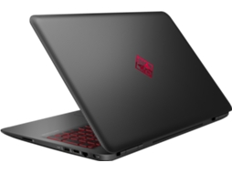 Portátil Gaming 15.6'' HP OMEN15-ax205np — Intel Core i7-7700HQ | 16 GB | 512 GB