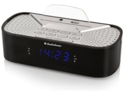 Rádio Despertador AUDIOSONIC CL-1463 — Bluetooth, cobertura até 10m, Rádio FM, sintonia PLL, 20 estaçõs prédefinidas, porta USB, Display, duploc alarme, sleep, Snooze, aux-in,