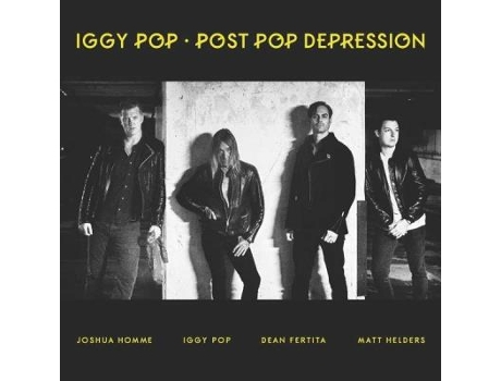 Vinil Iggy Pop - Post Pop Depression — Pop-Rock