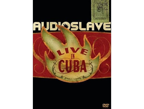 CD+DVD Audioslave - Live in Cuba — Pop-Rock