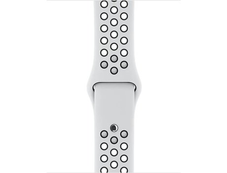 Bracelete APPLE 38mm Pure Platinum/Black Nike Sport Band — Bracelete / 38mm