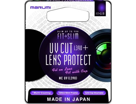 Filtro MARUMI Fit+Slim MC UV(L390) — 58MM