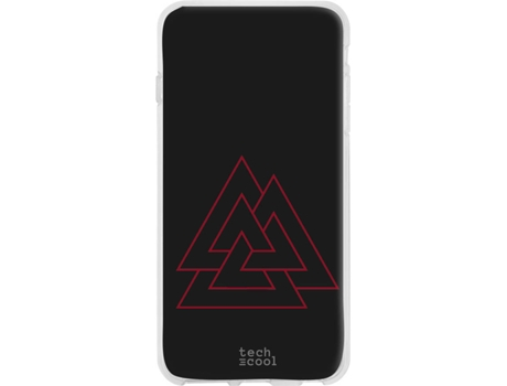 Capa Xiaomi Redmi Note 8T TECHCOOL Viking Preto