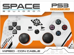 Comando PS3 Sem Fios INDECA Space Squadron — PS3