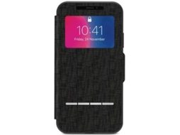 Capa MOSHI Sensecover iPhone X Preto — Compatibilidade: iPhone X