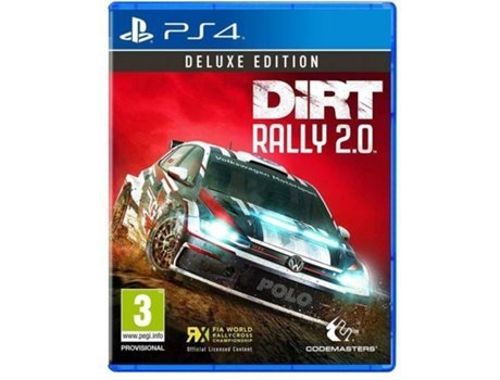 jogo ps4 dirt rally 2 0 deluxe edition m3. Black Bedroom Furniture Sets. Home Design Ideas