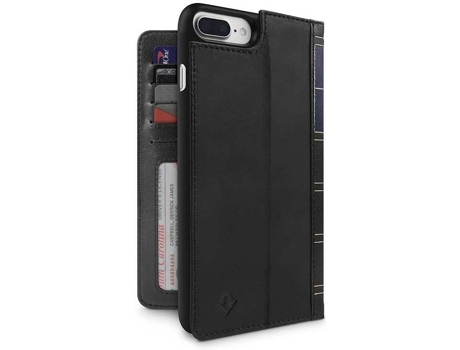 Capa TWELVE SOUTH Bookbook iPhone 7 Plus, 8 Plus Preto — Compatibilidade: iPhone 7 Plus, 8 Plus