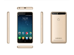 Smartphone LEAGOO Kiicaa Power 16 GB Champagne Dourado — Android 7.0 | 5'' | Quad-core 1.3GHz | 2GB RAM | Dual SIM