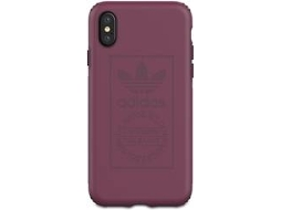 Capa iPhone X, XS ADIDAS Shockproof Techink Rosa — Compatibilidade: iPhone X, XS