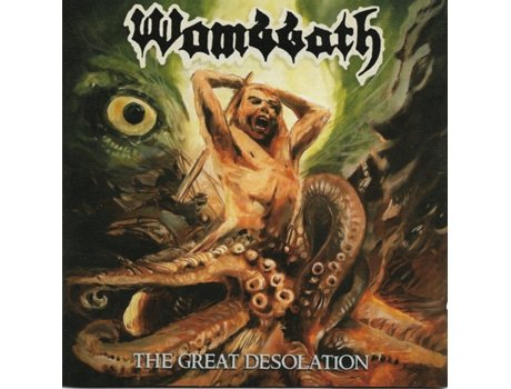 CD Wombbath - The Great Desolation