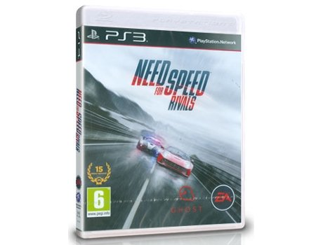 Jogo PS3 Need For Speed Rivals — Corridas | Idade Mínima Recomendada: 6