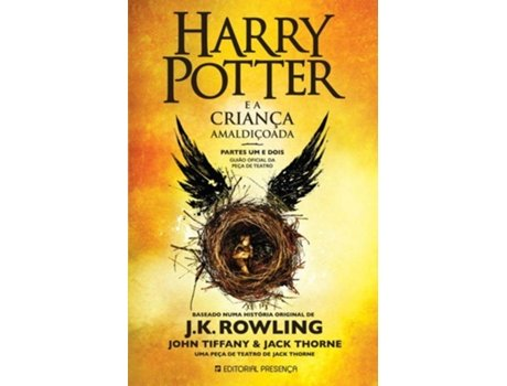 PRESENÇA - Livro Harry Potter e a Criança Amaldiçoada de J. K. Rowling (Português - 2018)