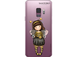 Capa GORJUSS Be Loved Samsung Galaxy S9 Transparente — Compatibilidade: Samsung Galaxy S9