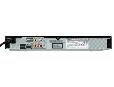 Leitor DVD SONY DVP-SR760H — CD | DVD | MP3 |  DIVx /JPEG
