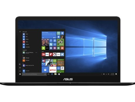 Portátil 15.6'' ASUS UX550VE-77DT5PP1 — Intel Core i7-7700H | 16 GB | 512GB | NVIDIA GeForce GTX 1050 Ti