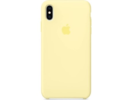 Capa APPLE iPhone XS Max Mellow Amarelo