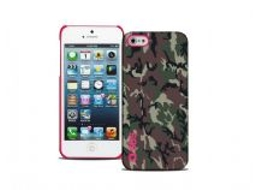 Capa SBS Camouflage iPhone 5, 5s, SE Rosa — Compatibilidade: iPhone 5, 5s, SE