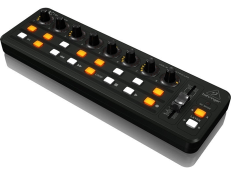Interface AUD BEHRINGER X-TOUCH MINI — Superfície de controlo universal DAW com o pocket interface ethernet