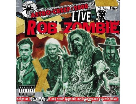 CD Rob Zombie - Astro-Creep: 2000 Live — Pop-Rock