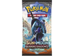 Pack Cartas POKÉMON Sun & Moon Burning Shadows Booster — 1 booster de 10 cartas