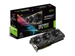Placa Gráfica ASUS Rog Strix GeForce GTX 1080 (NVIDIA - 8 GB DDR5) — GeForce GTX 1080 | 1607 MHz | 8GB GDDR5X