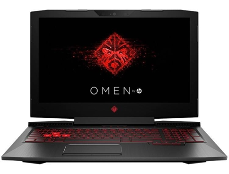 Portátil Gaming HP OMEN 15-CE010NP  — Intel Core I7-7700HQ / 16 GB / 1 TB Sata + 256 GB SSD M.2