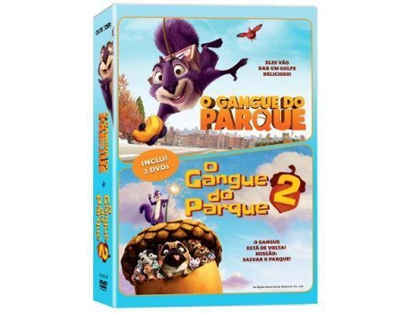 DVDs Pack O Gangue do Parque + O Gangue do Parque 2 — Animação