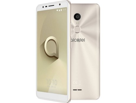 Smartphone ALCATEL 3C 16 GB Dourado — Android 7.1 | 6'' | Quad-Core | 1 GB RAM | Dual SIM