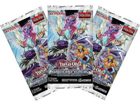 Packs de Cartas YU-GI-OH! Duelist Pack: Dimensional Guardians — 3 boosters de 5 cartas cada