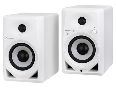 PIONEER DJ - Monitor Pioneer DM-40BT-W (PAR) Branco