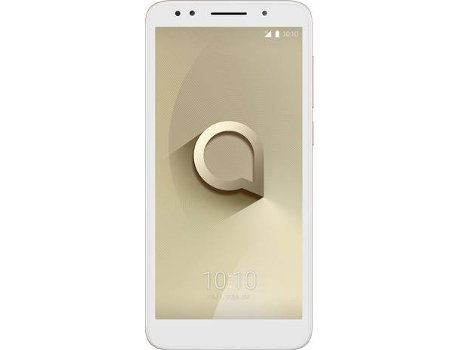 Smartphone ALCATEL 1X 16 GB Dourado — Android 8.1 | 5.3'' | Quad-Core (4 x 1.3GHz) | 2 GB RAM